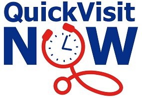 Quickvisit now logo at 25