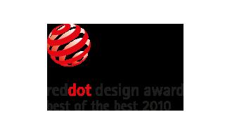 Red dot design Award - Best of the best 2010