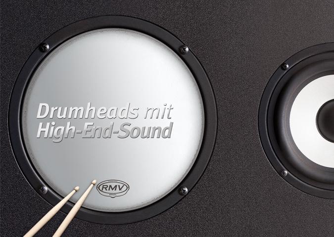RMV Drumheads Anzeige Ansicht