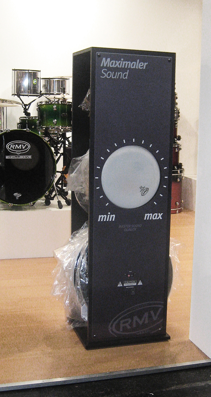 RMV Drumheads Messdisplay Ansicht 2