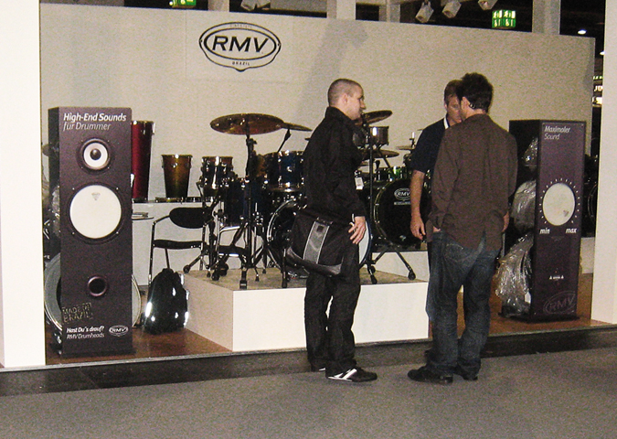 RMV Drumheads Messdisplay Ansicht 3