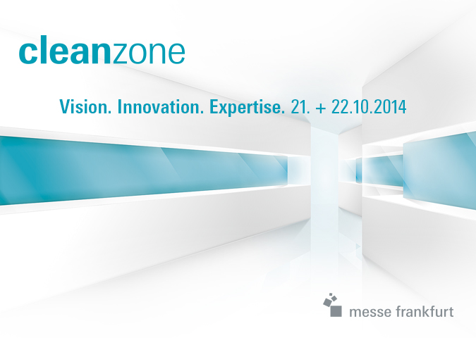 Messe Frankfurt > Cleanzone 2014 > Keyvisual 2014