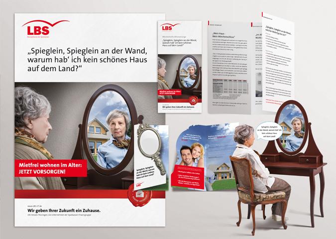 LBS Hessen-Thüringen Jahreskampagnen 2014 > Altersvorsorge