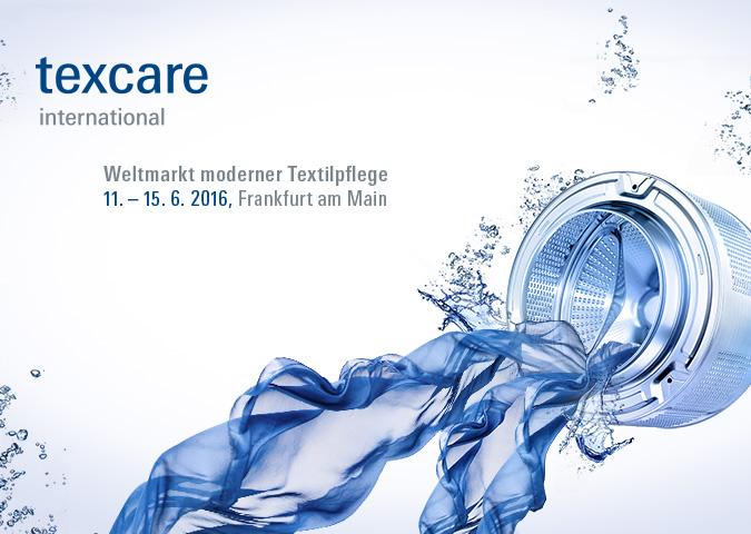 Messe Frankfurt > Texcare international > Keyvisual 2016