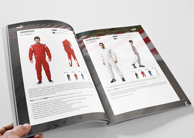 Puma Autoperformance 2016 Katalog Innenseiten