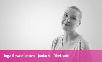 Inga Sevastianova > Junior Art Direktorin