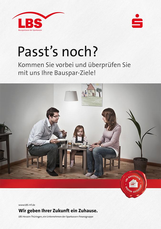 LBS Hessen-Thüringen Startaktion 2013 Plakat