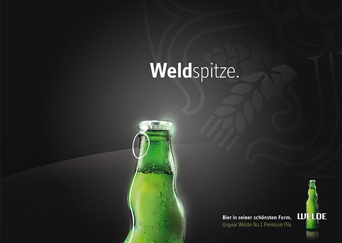Welde Premium Pils Ímagekampagne Print Motiv 3