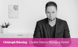 Christoph Bönning > Creative Director/Managing Partner