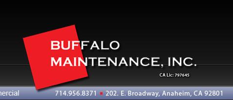 Buffalo Maintenance