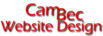 CamBec Website Design
