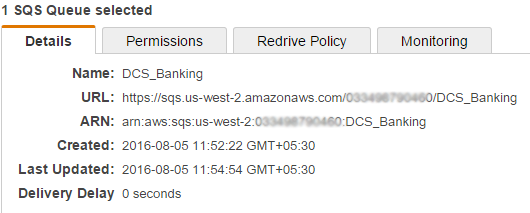Setting up AWS connection manually