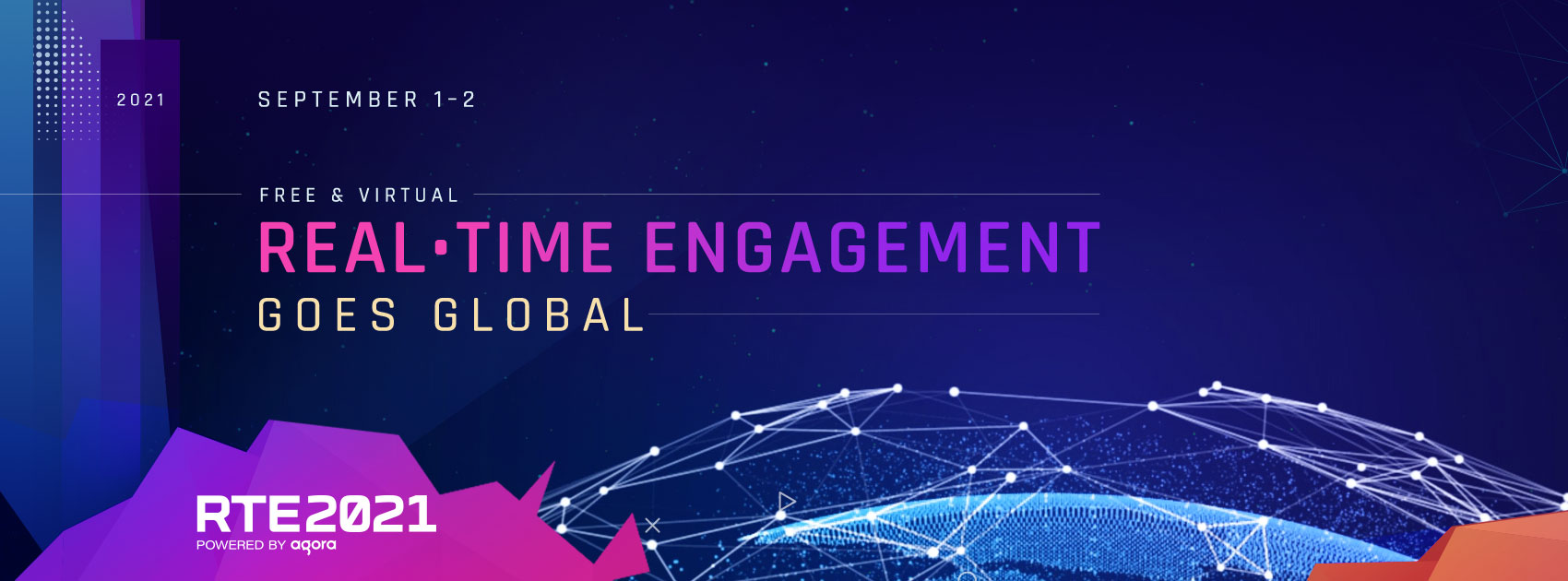 RTE2021 - Free and virtual Real-time Engagement goes global - September 1-2