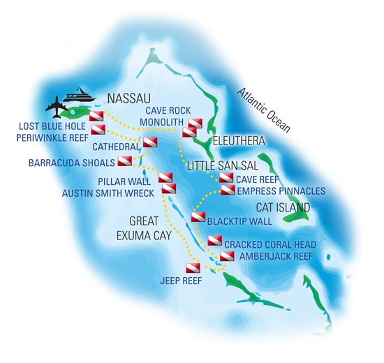 Bahamas Dive Sites
