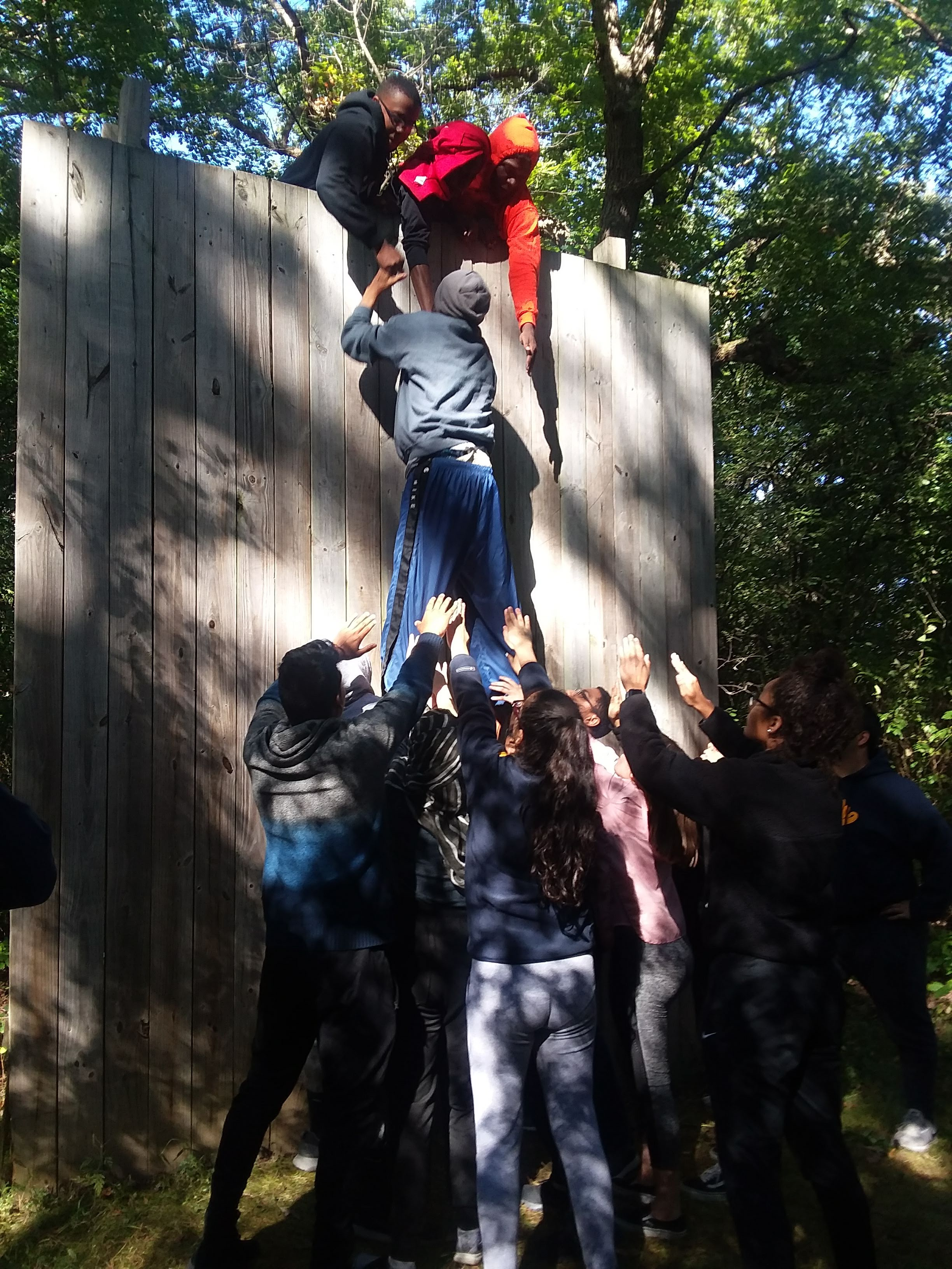 Team Building - Army Lake Camp