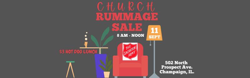 CHURCH RUMMAGE SALE Image