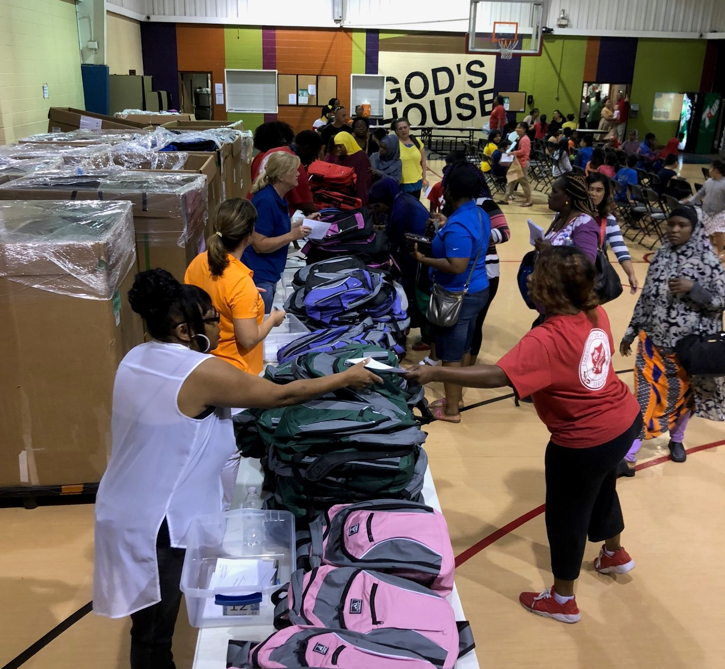 We are Distributing Backpacks to Help Kids go Back to School