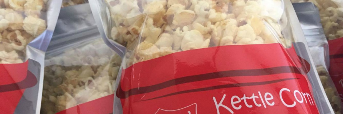 Kettle corn sale