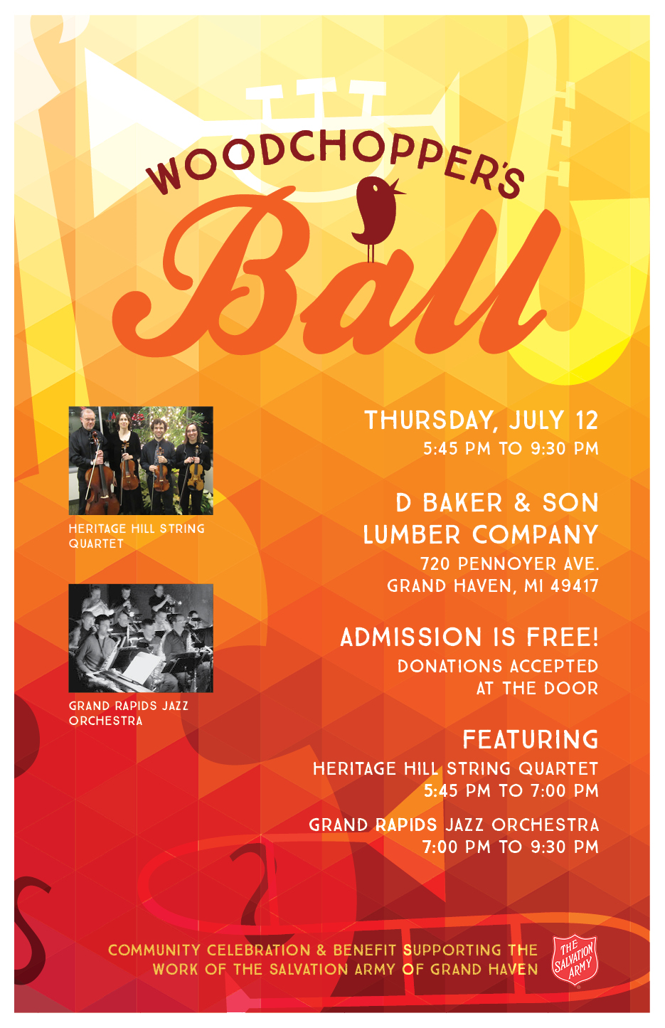 D. Baker U0026 Son Lumber Company Partners With The Salvation Army Of Grand  Haven For Woodchopperu0027s Ball Dance Fundraiser