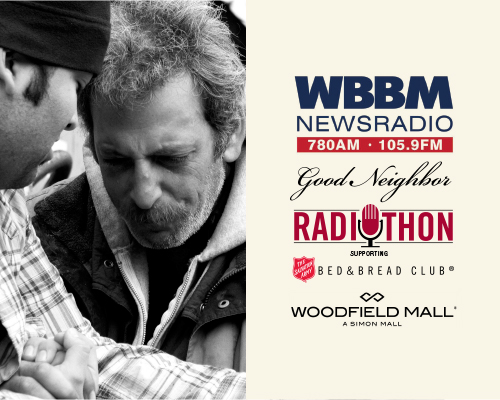 Tune in to WBBM Newsradio on Friday, December 9th! Fight hunger and homelessness for $20 a month.