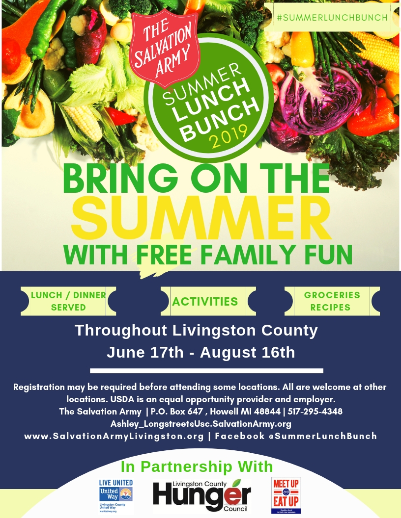 Summer Lunch Bunch - Livingston County