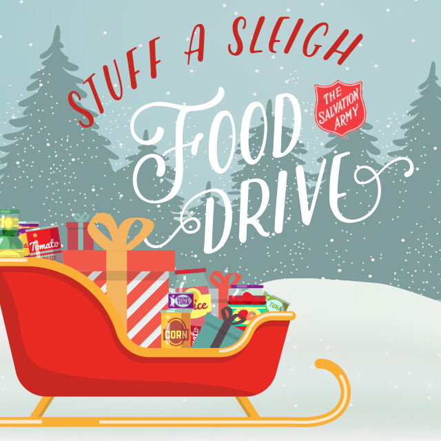 Salvation Army Gifts For Christmas: Stuff-a-Sleigh At Al's Grocery!