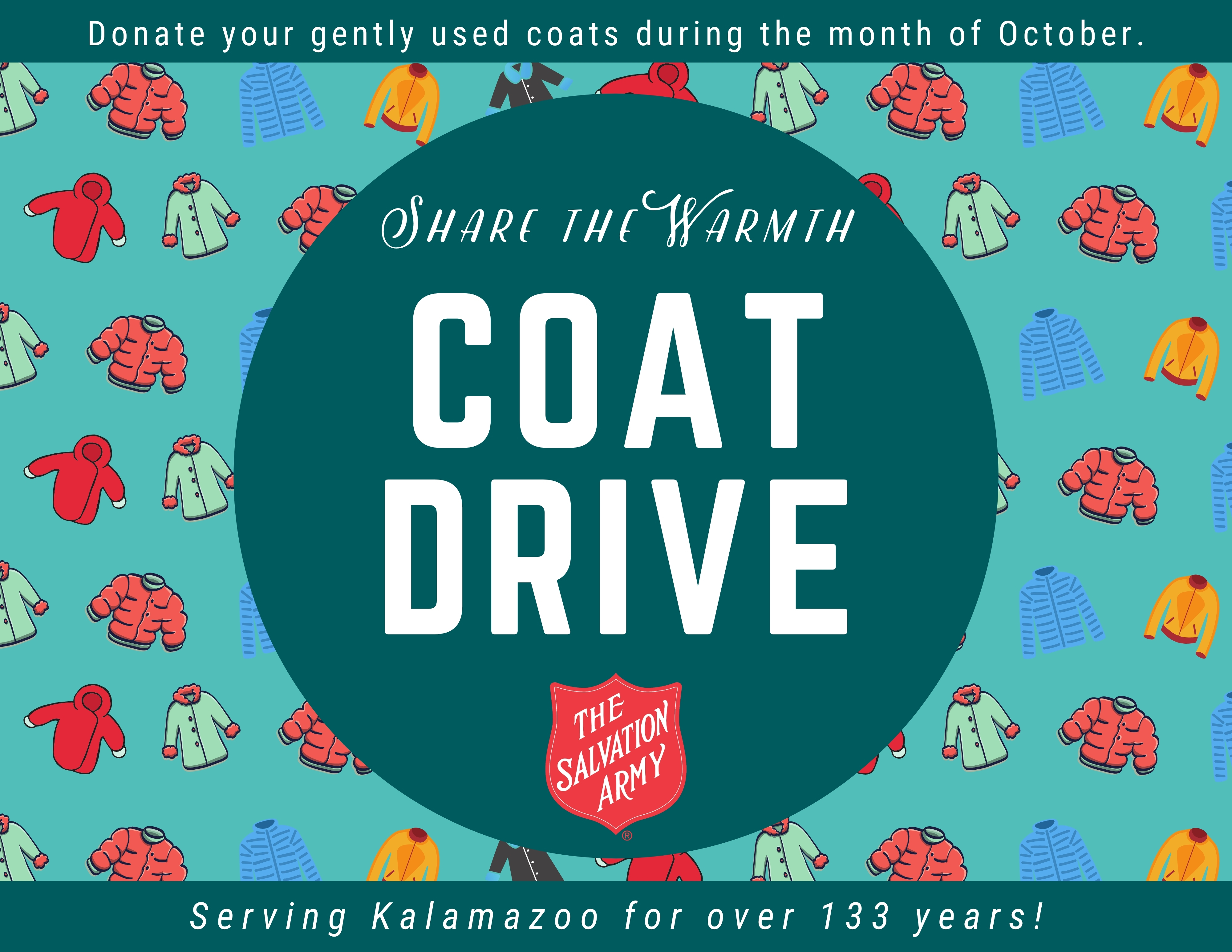2020 Share the Warmth Coat Drive Image