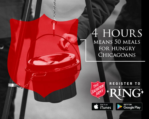 Volunteer to Ring Bells with The Salvation Army this holiday season