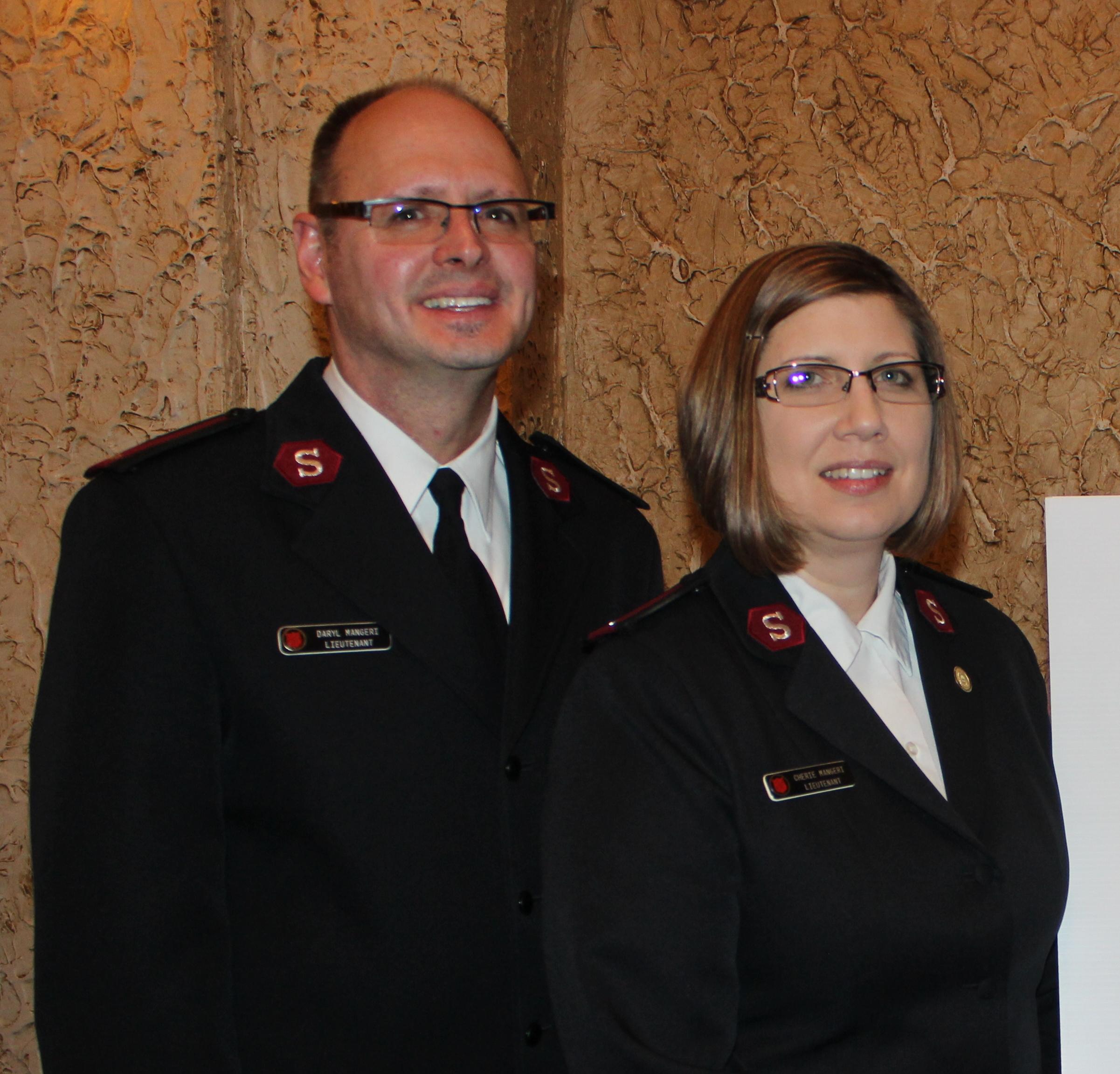 Lt. Daryl & Cherie Mangeri
