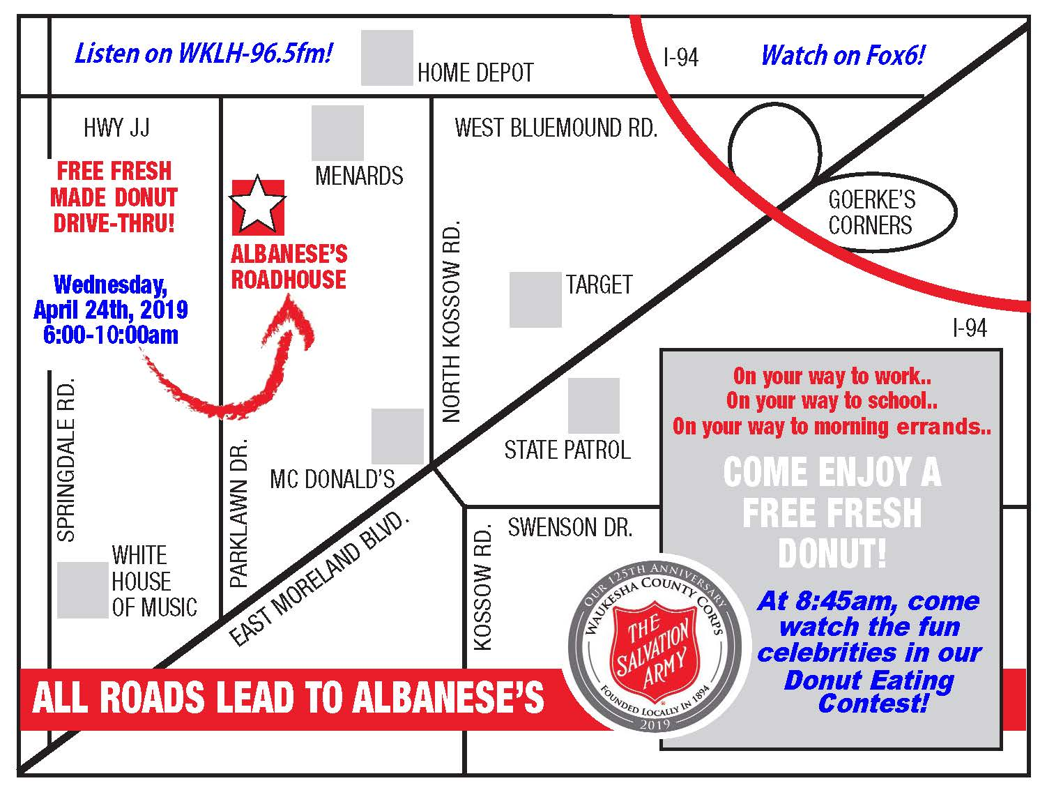 Special Events - Waukesha Salvation Army