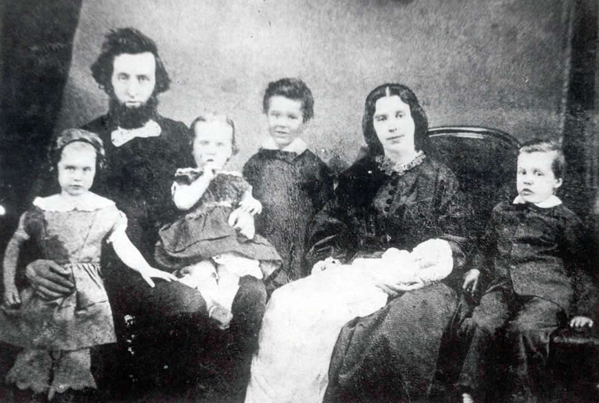 William and Catherine Booth with Children