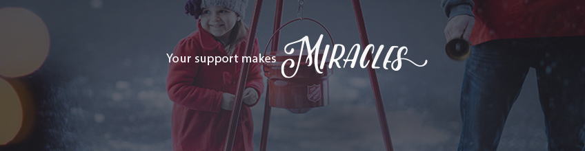 Your Support Makes Miracles