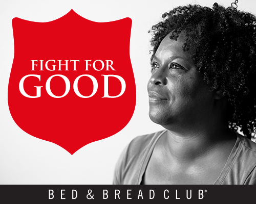 Join The Salvation Army Bed & Bread Club and provide a fresh start for human trafficking victims throughout Chicagoland.