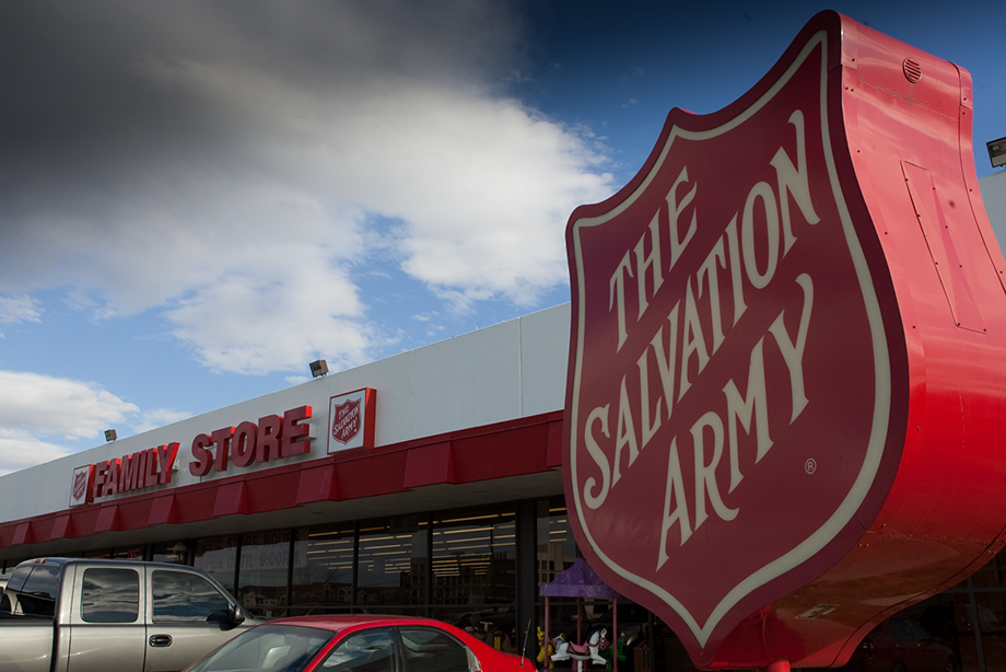 salvation army family thift store