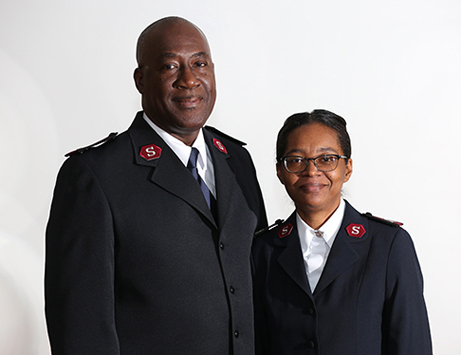 The Salvation Army officers serving North Minneapolis, Majors Robert and Paula Pyle