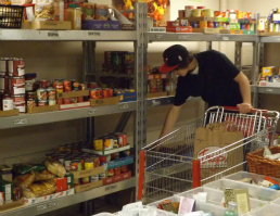Salvation Army Oshkosh Food Pantry