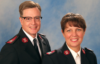 Major Steve and Major Christine Merritt