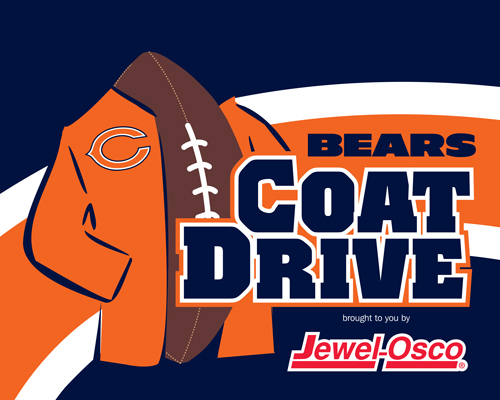 Chicago Bears Coat Drive and The Salvation Army