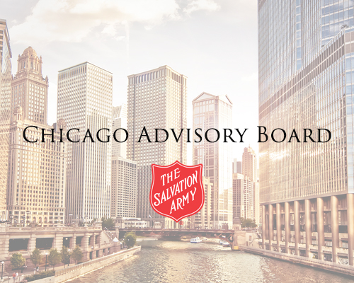 Chicago Advisory Board Online Fundraiser Benefitting The Salvation Army