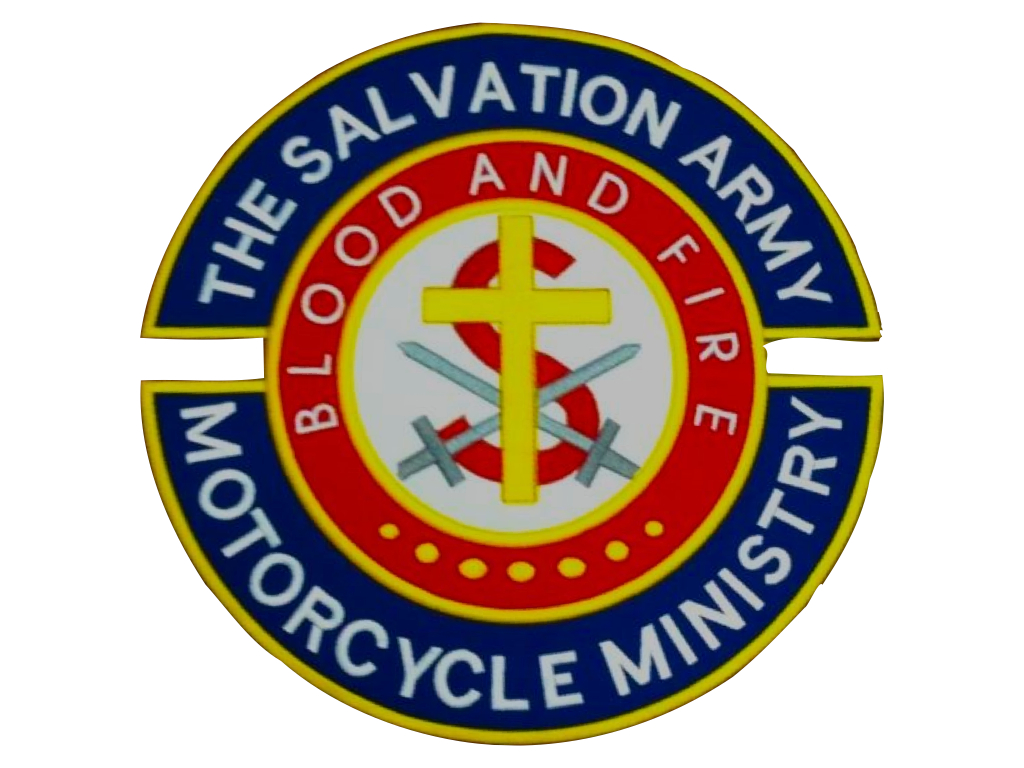 The Salvation Army Motorcycle Ministry Patch