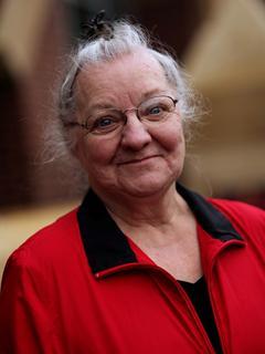 Ella Davison, a resident in Salvation Army housing