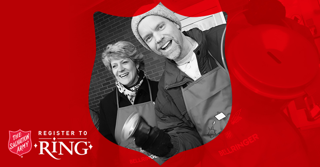 Register to Ring Bells with The Salvation Army