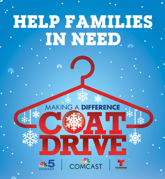 NBC Making A Difference Coat Drive