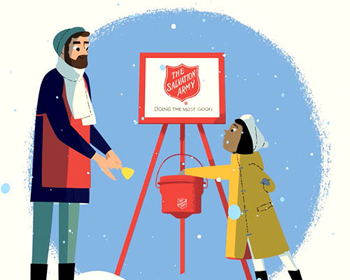 This holiday season join The Salvation Army in the Fight for Good