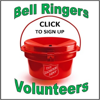 Volunteer to Bell Ring for The Salvation Army