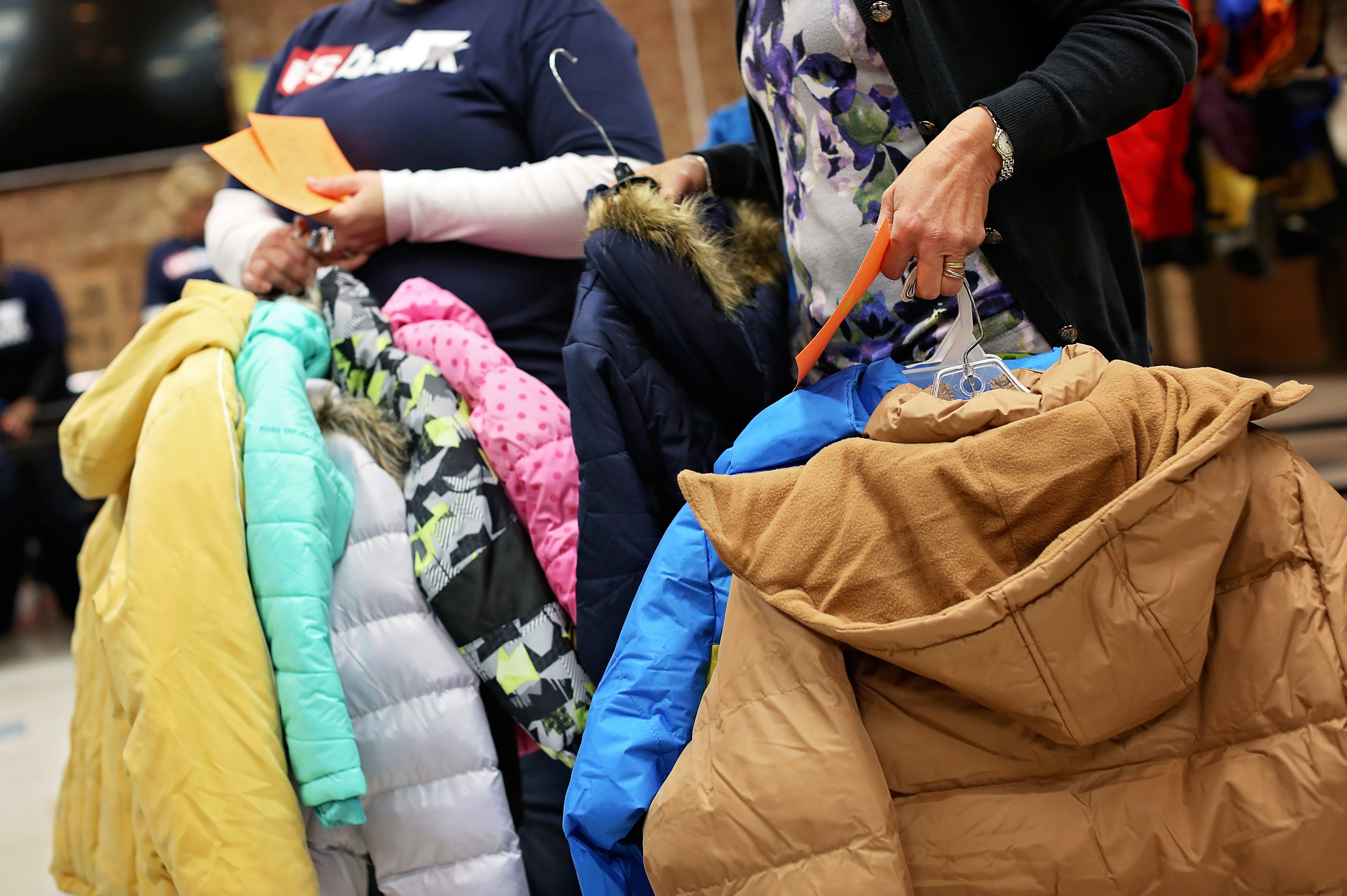 Coats for Kids & Families Distribution Image