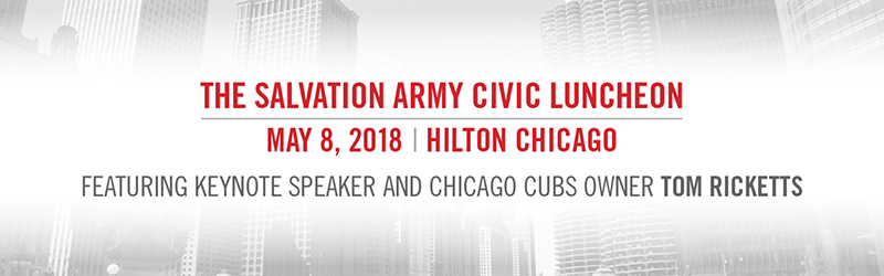 Annual Civic Luncheon Features Chicago Cubs Owner Tom Ricketts The Salvation Army Metropolitan