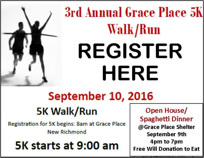 Register for Grace Place 5K