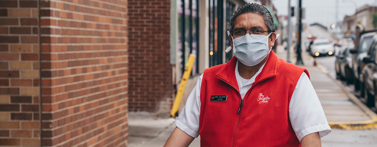 The Salvation Army needs your help to change lives and save lives.