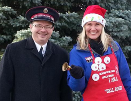 Salvation Army Racine Bell Ringer